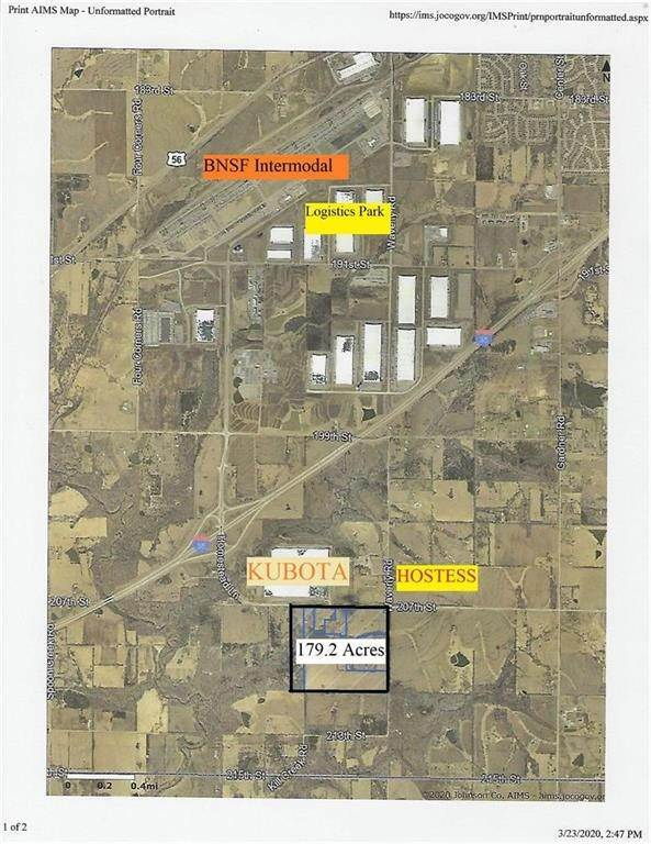 Land for Sale at 179ac 207th & Waverly Road Edgerton, Kansas 66021 United States