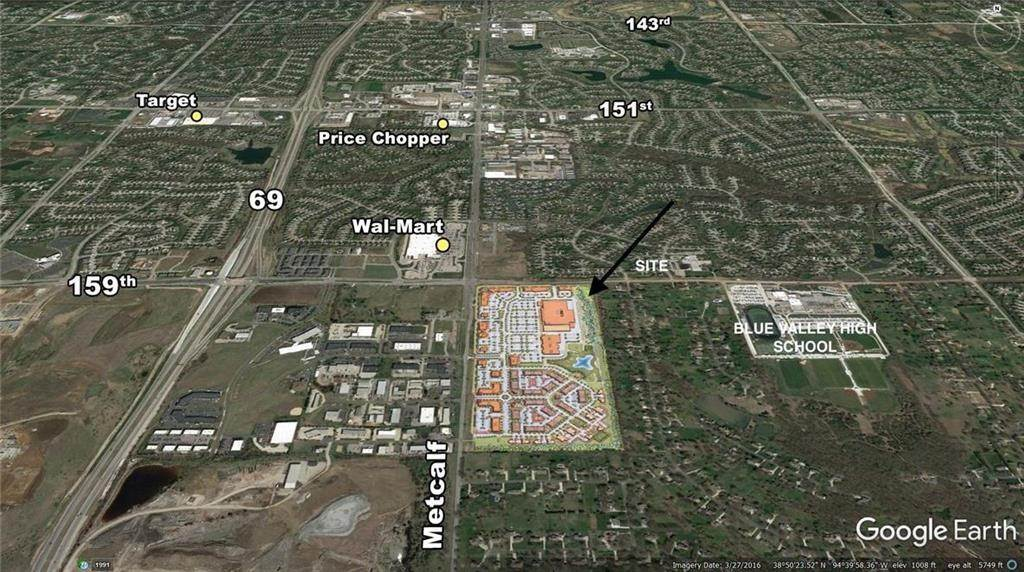 Land for Sale at 159th metcalf Avenue Overland Park, Kansas 66223 United States